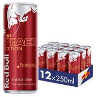 Red Bull Peach 12 x 250ml