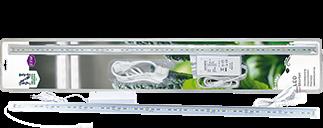Växtbelysning LED No.1, 85 cm 23W m. adapter