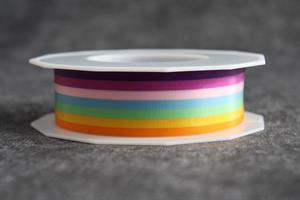 Band 25 mm 20 m/r Regnbåge