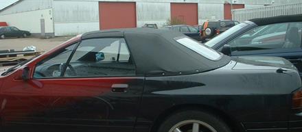 Sufflett Mazda RX-7 89-92 vinyl svart
