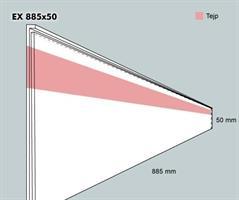 Etiketthållare EX 885-50F