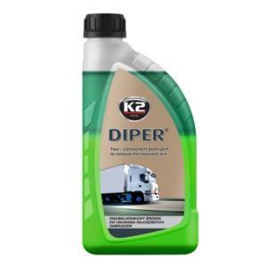 K2 DIPER AVFETTNING 2-KOMP 1 Liter