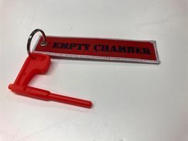 Kivääri Chamber Flag (Punainen) - avaimenperällä