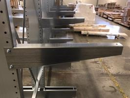 Lastarm 600 mm 500 kg galvad