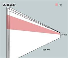 Etiketthållare EX 885-39F