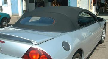 Sufflett Mitsubishi Eclipse 00-05 tyg svart