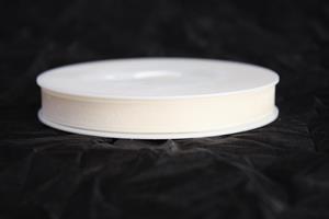 Band 10 mm 50 m/r organza cream