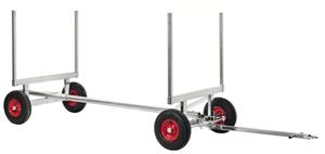 Långgodsvagn 2500 kg 3000x1270x600