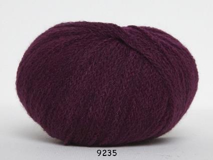 Kinna Textil Rustic Baby Alpacka vinröd