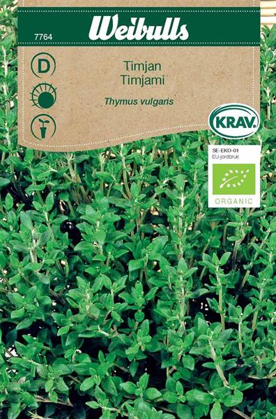 Timjan Krav Organic