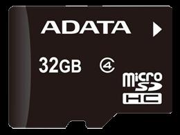Minne Micro SDHC 32GB ADATA