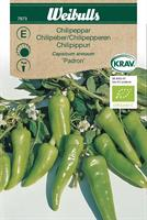 Chilipeppar 'Padron' KRAV Organic