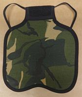 Ryggskydd kamouflage - Large