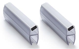 Magnetlist 135 grader for 5 mm glass - 1 par