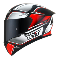 KYT TT-COURSE - Tourist Red Fluo