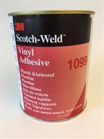 3M Scotch-Weld Plastlim 1099, Ljusbrunt 1 Liter