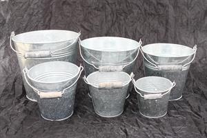Zinkhink olika storlekar från 10 till 35cm