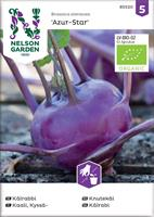 Kålrabbi 'Azur-Star' Organic