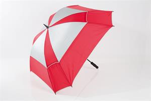 JuCad Stormparaply Fyrkantigt, Röd