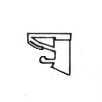 Sprosseklips Nr.2 - 5 stk