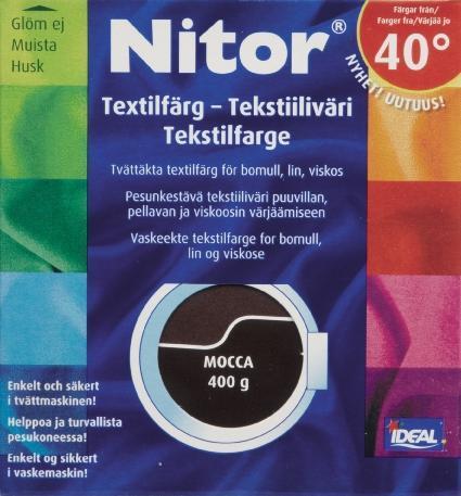 TEXTILFÄRG MOCCA 10 NITOR