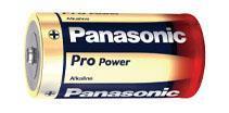 Batteri LR14.Alkaline/2st Panasonic