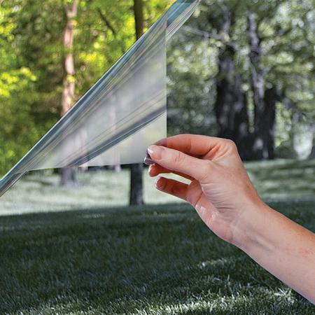 Vindusfolie folie vindu selvklebende statisk enkel å montere Hadeland Gran Brandbu Oppland