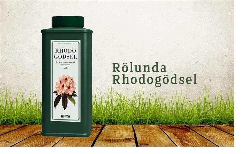 Rhododendron gödsel pelleterad 1,7 liter