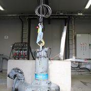 Automatkrok dränkbar pump
