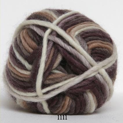 Kinna Textil Naturull print brun/beige/natur