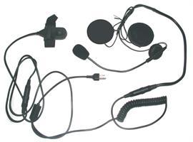 Hjälm headset HS-02A.Öppen hjälm