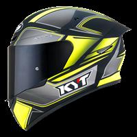 KYT TT-COURSE - Tourist Matt Yellow Fluo