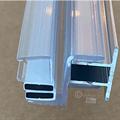 Veggprofil m/magnetlist 180 gr. for 8 mm glass