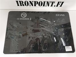 CZ Shadow 2 puhdistus ja huoltomatto