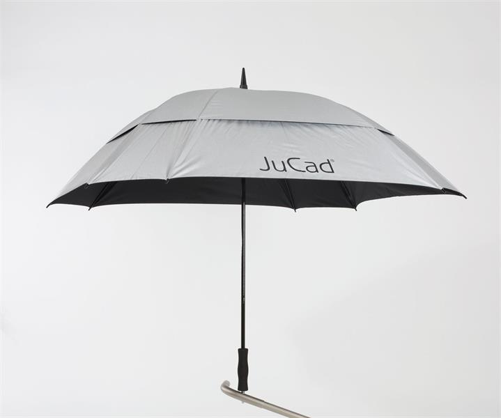 JuCad Stormparaply Fyrkantigt, Silver