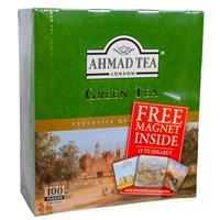 Te Ahmad 12 x 100p Green Tea