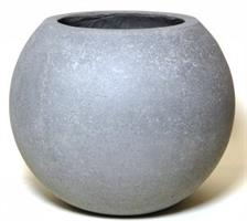 Cementkruka boll D25cm H21cm 4/fp