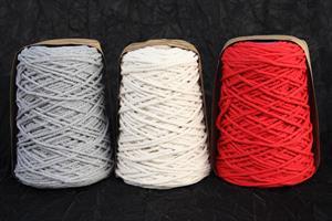Band Bomullskordel olika färger