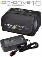 iON-Drive 16 Ah Litiumbatteri för PowaKaddy FW3-7