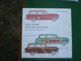 Ford 1953 Station Wagons