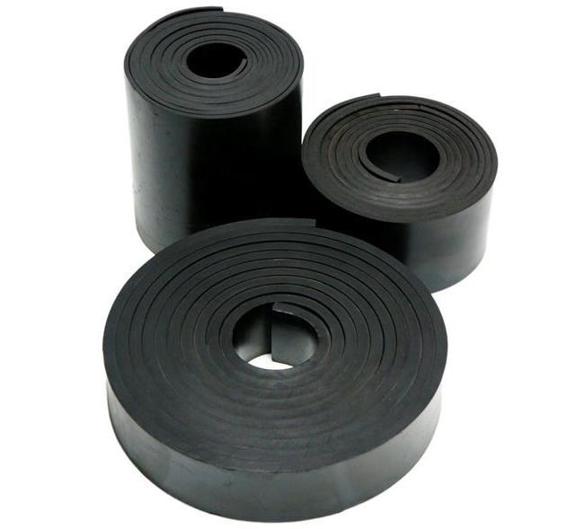 Oppskåret gummi gummiduk gummimatte kompaktgummi rubber sheetHadeland glass Norge