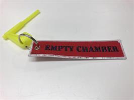 Kivääri Chamber Flag (Keltainen) - avaimenperällä