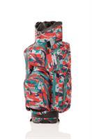 JuCad Bag Aquastop, Kamoflage / Röd