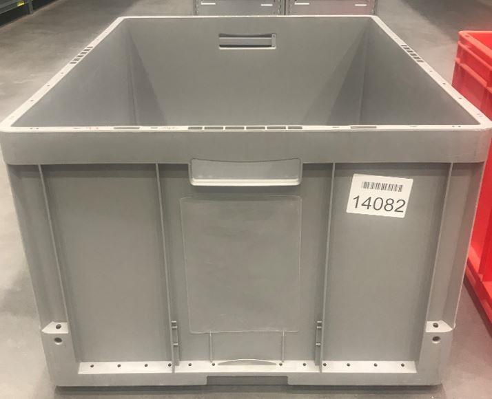 Lagerback 800x600x420 grå beg
