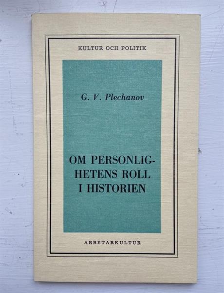 Om personlighetens roll i historien