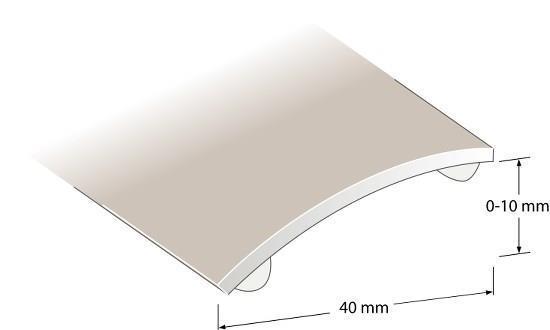 Nivålist Fix brons 1000x40x0-10mm 219.00 kr/st Nivålist Fix brons 2000x40x0-10mm 389.00 kr/st