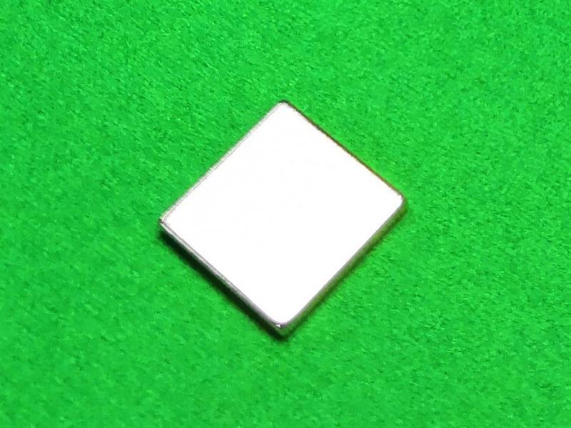 Magnet for Snooker Chalk (20 x 20 mm / nelikulmainen)