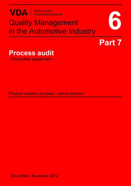 VDA Vol 6.7 Processrevision - Produktionsutr.