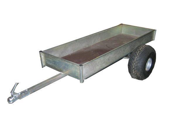 ATV-vagn enkelaxel