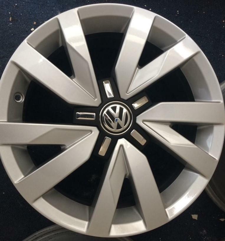 "VW ARAGON 6,5x16"" Original 5x112 ET 41 KR 57,1 Silver"